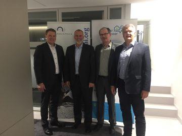 Protagonisten des Trinkwasserhygiene-Forums in Hamburg